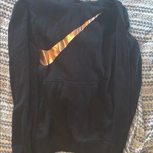 Rose Gold Nike Hoodie